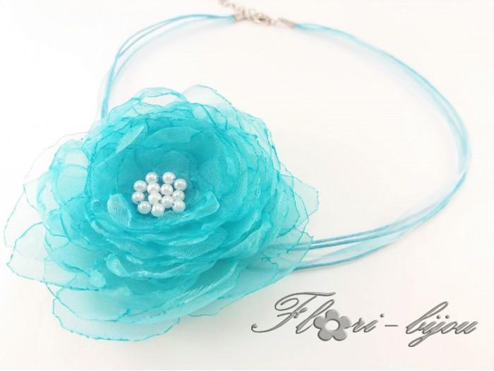 Колие Blue Flower